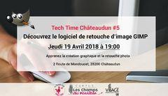 Tech Time Châteaudun #5 : Découvrez le logiciel de retouche d'image GIMP
