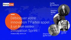 WEBINAIRE PENTALOG / Débloquer votre innovation ? Faites appel à un Innovation Sprint !  Startups Orléans